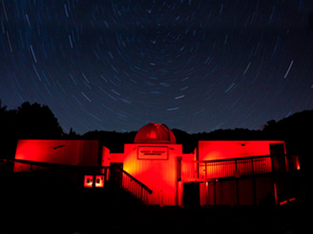 Robert Ferguson Observatory at Night